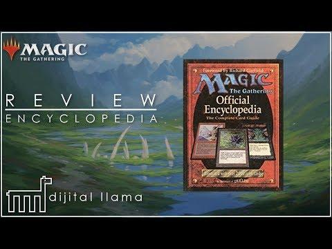 Magic the Gathering Official Encyclopedia Review MtG