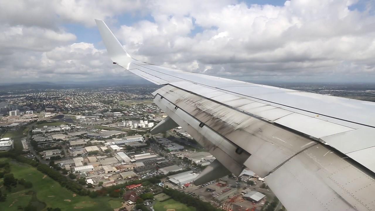 Download Qantas Boeing 737 Landing - Brisbane (QF 512)