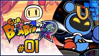 Super Bomberman R - Story Mode Part 1 | World 1: Planet Technopolis! [Nintendo Switch Gameplay]