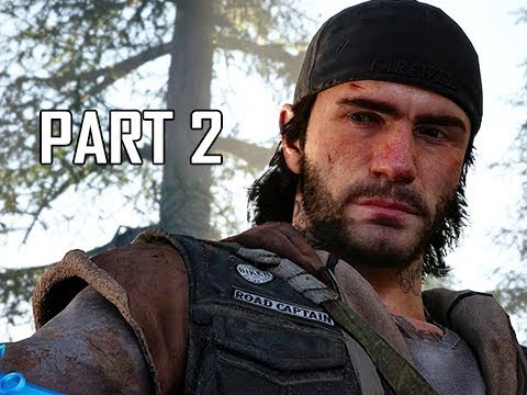 DAYS GONE Walkthrough Part 2 - Copeland Camp (PS4 Pro Let's Play)
