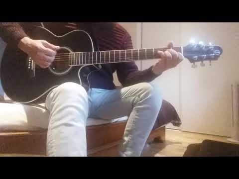 Amr diab - habibi wala ala balo - cover guitare by amine nizar