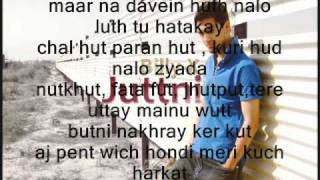 billy-x juttni punjabi with lyrics