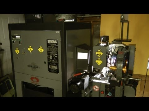 Extreme teardown - Simplex 35mm cinema projector - Part 4 Overview and Run