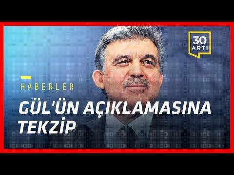 Gül'ün 'Gülen' açıklamasına tekzip - OHAL Komisyonu ölü mü doğdu? - Çin foton ışınladı | Haberler