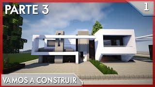 minecraft casa moderna construir