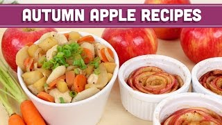 Autumn Apple Recipes: Savory & Sweet! Collab With Dani Spies! Mind Over Munch