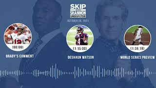 Brady's comment, Deshaun Watson, World Series preview | UNDISPUTED audio podcast (10.26.21)