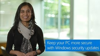 Keep your PC more secure with Windows security updates