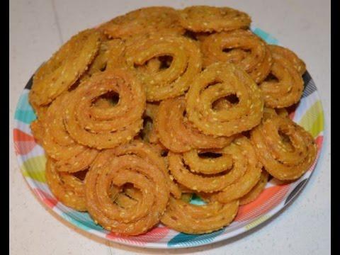 Rice Flour Chakli (Crispy rice flour snacks)