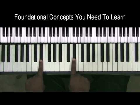 Foundational Gospel Piano Lessons