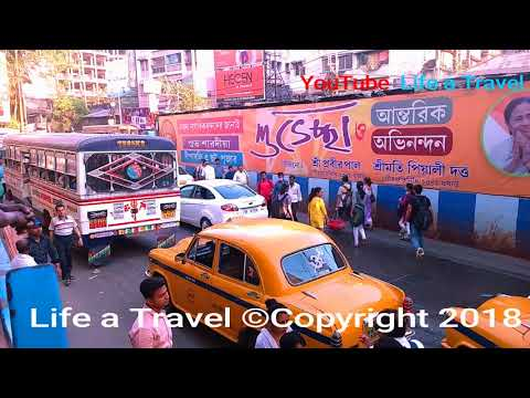 EMU Local train And Station DumDum Jn Indian Eastern Railway Kolkata Full Reviews