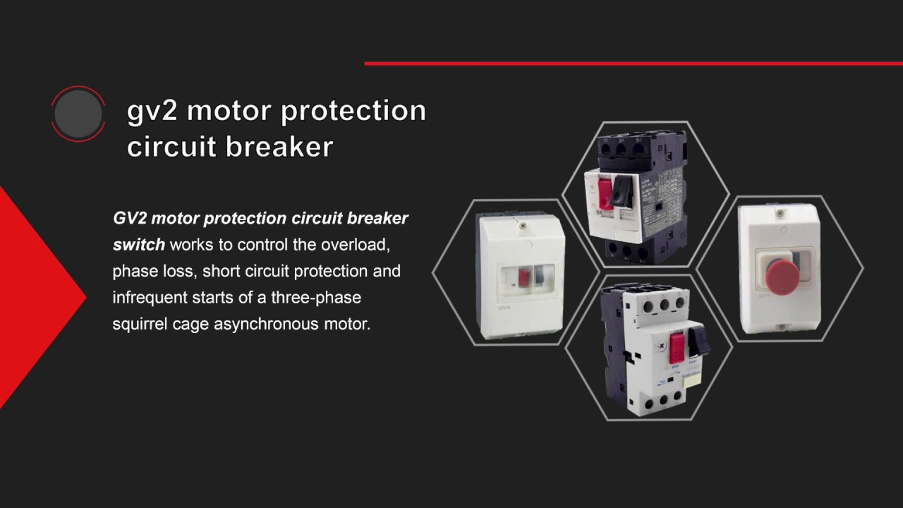GV2-ME motor protection circuit breaker switch sizing