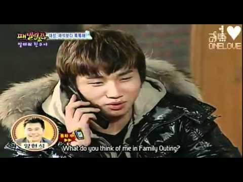 [Engsub] Daesung & YG - Family Outing Phone Call Cut