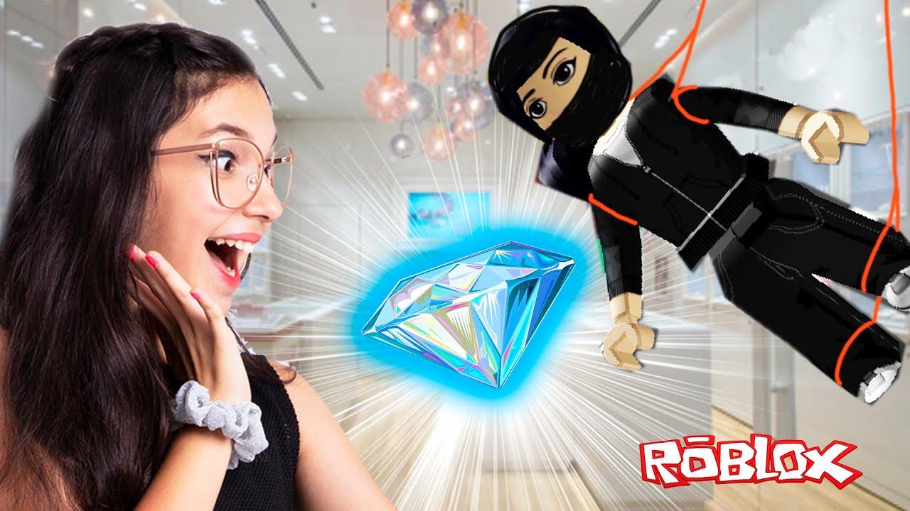 Roblox - A CORRIDA DAS PIORES AGENTES SECRETAS (Rob the Jewelry Obby) | Família Luluca