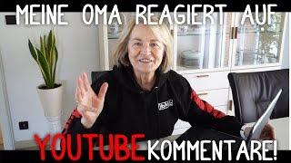 Meine OMA reagiert auf EURE Kommentare! | Deutsch | HeyMoritz