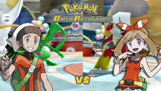 Pokémon Battle Revolution: Brendan vs May [60fps] ORAS