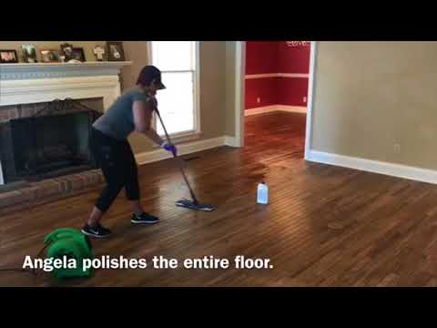 Wood Floor Cleaning & Polishing