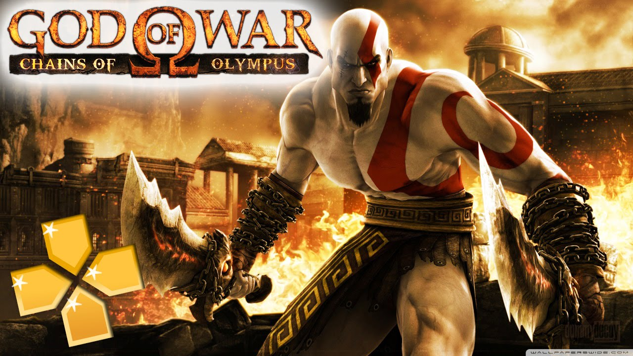 God of War Chains of Olympus PPSSPP Gameplay Full HD / 60FPS - YouTube
