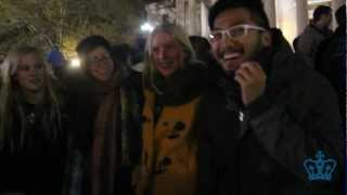 Columbia students celebrate President Obama's re-election