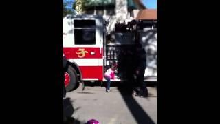 Firetruck Ride To School