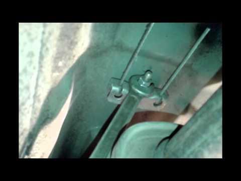 LADA Granta-Регулировка стояночного тормоза.