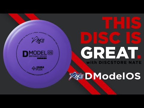 Prodigy Ace Line D Model OS Disc Golf Disc Review - This Disc Is Great with DiscStore Nate