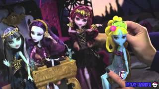 Monster high -  New Dolls from movie 13 wishes (Commercial)