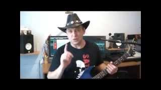 Учимся импровизировать соло на гитаре. Урок 1
