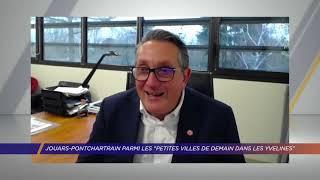 Yvelines | Jouars-Pontchartrain parmi les «Petites villes de demaindans les Yvelines»