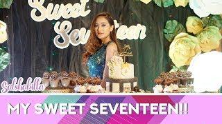 Video SALSHABILLA #VLOG - MY SWEET SEVENTEEN download MP3, 3GP, MP4, WEBM, AVI, FLV Desember 2017