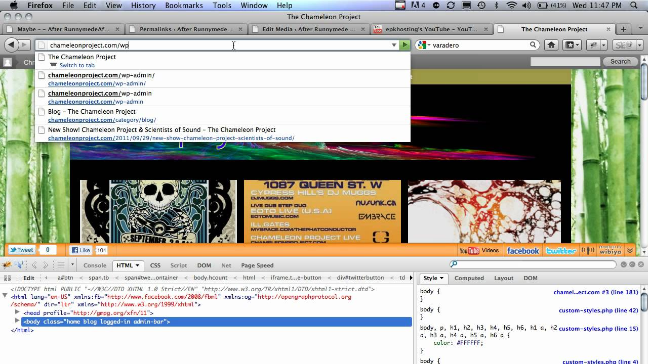 Background image xhtml - Fix Your Background Image So It Doesn T Scroll