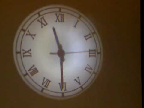 Projection Clock Youtube