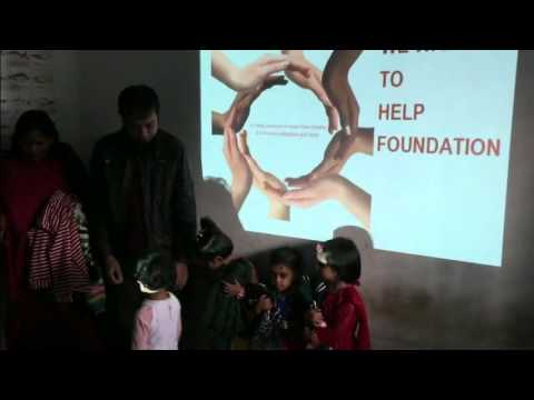 We Want To Help Foundation Distributing Winter Cloths To Children
