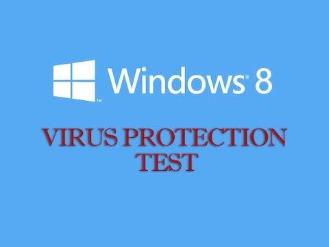 Windows 8 Virus Protection Test