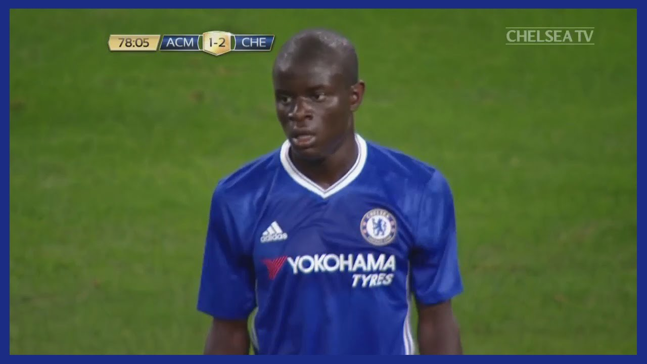 N Golo Kante vs Milan Friendly 04 08 2016