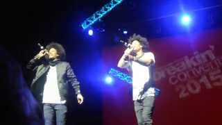 "Les Twins singing! ""Nanana you don"