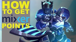 How to get Mixer points aka viewer points in Paladins