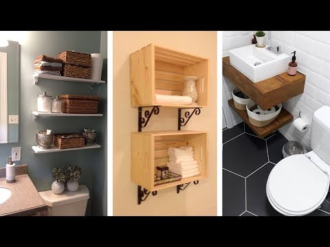 20 Genius Small Bathroom Storage Ideas