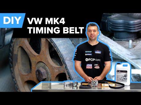 Mk4 Volkswagen Golf GTI Timing Belt & Water Pump Replacement DIY (1998-2006 VW Beetle, Jetta, Golf)