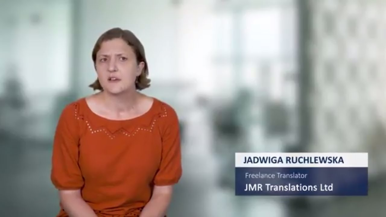 SDL Trados Studio Testimonial - Jadwiga Ruchlewska