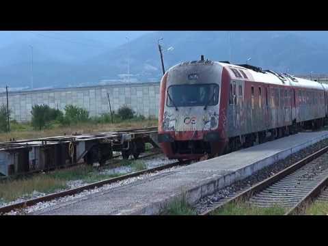 Travel Trains Bulgaria to Greece- Border Crossing - Alexandroupolis to Kulata  Pt 4   Serres