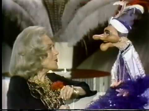 Gloria Swanson, Wayland Flowers and Madame, 1980 TV