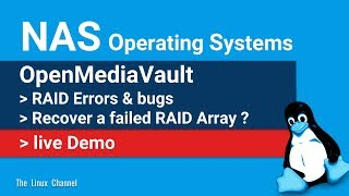 0x16e NAS OS || OpenMediaVault || RAID Errors and bugs || Recover a failed RAID Array