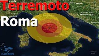 Scossa di terremoto a Roma: epicentro a Fonte Nuova