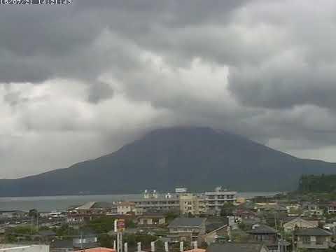 21/7/2018 - Mt Sakurajima 桜島 TimeLapse C4