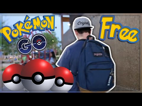 BEST WAY TO GET FREE POKEBALLS!! (POKEMON GO)
