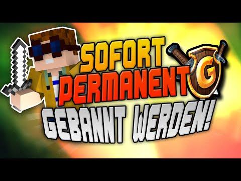 HACKER DIREKT PERMANENT GEBANNT auf GOMMEHD.NET! | CraftingPat