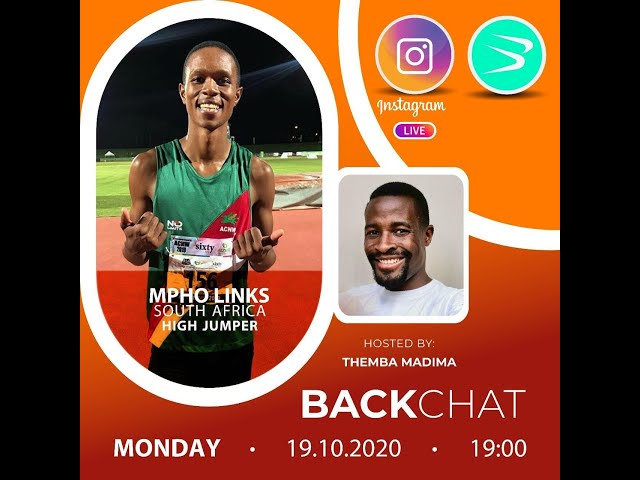 BackChat episode 67 with Mpho Links