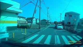 2018年4月28日 15:43頃 大分市高田周辺にて交差点内交通事故瞬間!