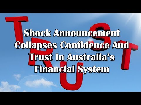 Adams/North: Shock Announcement Collapses Confidence And Trust In Australia's Financial System
